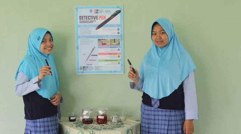 Detective Pen Karya Siswa MAN 2 Kudus, Raih Juara 2 LIPI National Young Inventors Award 2020