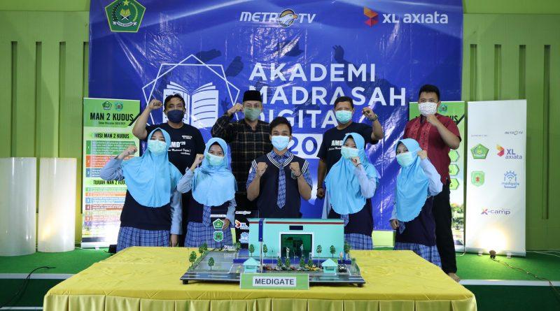 "MAN 2 Kudus Raih ""The Top Contender"" Akademi Madrasah Digital 2020"