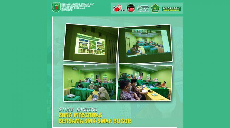Studi Banding Virtual Zona Integritas MAN 2 Kudus bersama SMK-SMAK Bogor